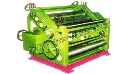 Maquinaria ondulada da caixa