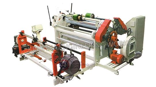 Tipo resistente máquina do cilindro de rebobinador da talhadeira